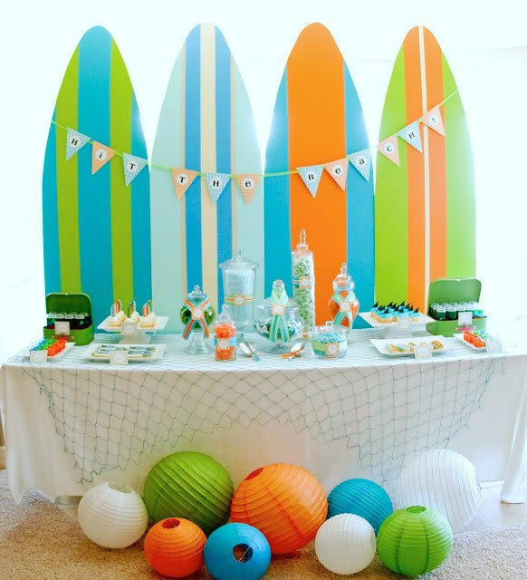 Como Organizar Una Fiesta De Cumpleanos En La Playa Decoraciones
